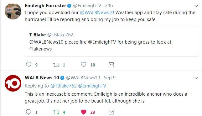 Emileigh Tweet 1