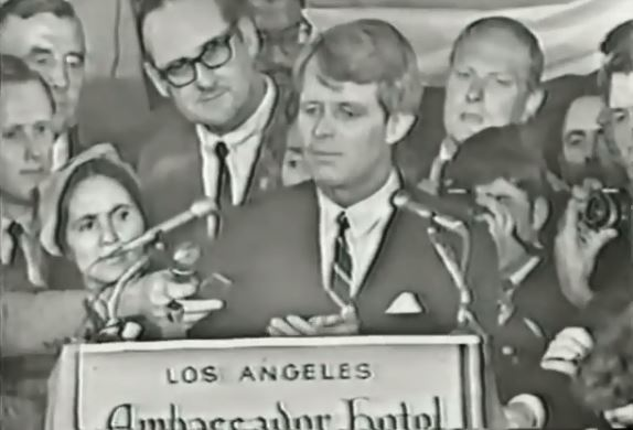 RFK's California Primary acceptance speech June 5, 1968